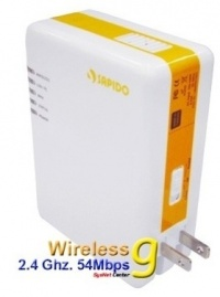 Sapido PR-1118 85Mbps Powerline Server MFP