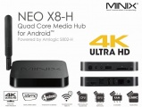 Minix NEO X8-H 4K Media Hub + M1 Air mouse