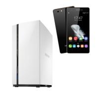 QNAP TS-228 + VisionBook P50 LTE Black