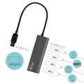 i-tec USB 3.0 Metal Charging HUB 448 4-Port