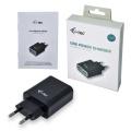 i-tec USB Power Charger 2-Port 2.4A Black