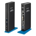 i-tec USB 3.0 Dual Docking Station + Charging Port