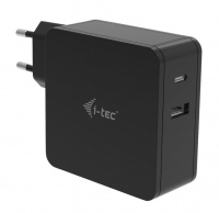 i-tec USB-C CHARGER 60W + USB-A Port 12W