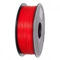 Tisková struna ABS 1,75mm 1kg červená ANET3D