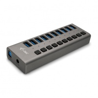 i-tec USB 3.0 Charging HUB 10-Port + Adapter 48W