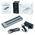 i-tec USB 3.0 Charging HUB 13-Port + Adapter 60W