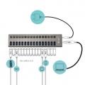 i-tec USB 3.0 Charging HUB 16-Port + Adapter 90W