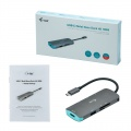 i-tec USB-C Metal Nano Dock 4K HDMI + PD 60W