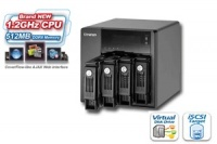 QNAP TS-419P, 4-bay Turbo NAS Server 1,2GHz/512MB