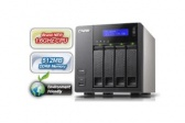 QNAP TS-419P+ 4-bay Turbo NAS Server 1,6GHz/512MB